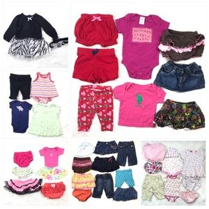 38 Items Baby Girl Bundle 0-3 M / 3 Month / 0-6M
